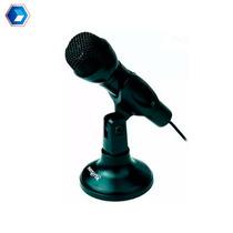 Microfono Para Pc Reforzado Nisuta Ns-mic180 Miniplug 3.5mm
