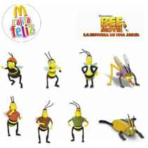 Bee Movie Coleccion Completa Mc Donalds