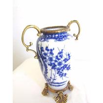 Adorno Florero Fino Centro De Mesa Porcelana China