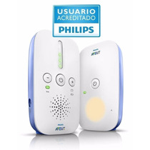 Baby Call Monitor Philips Avent 330mts De Alcance C/ Luz Led