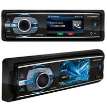 Stereo Dvd Autos Positron Sp4330bt - Lcd 3 Usb Mp3 Bluetooth