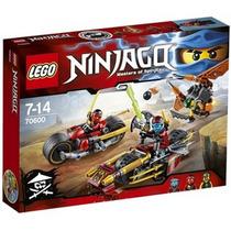Lego Ninjago Ninja Bike Chase Zap 70600