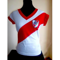 Remera Dama River Plate Campeon Libertadores 2015