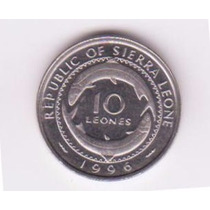 Sierra Leona - Moneda De 10 Leones De 1996 - Sin Circular