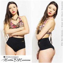 Bikinis, 2017. Culoteless Tiro Alto. 100% Lycra