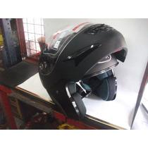 Casco Rebatible Max V200 Negro Mate Bikers Garage