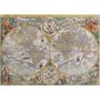 Rompecabezas Ravensburger De 1500 Piezas: Mapa Antiguo