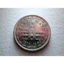 Moneda Argentina 1 Peso 1960 25 De Mayo Cabildo Escudo Boedo
