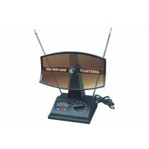 Antena Portatil Largo Alcance Para Tv Uhf / Vhf / Fm