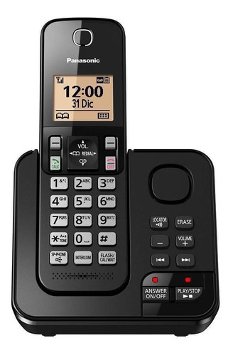 Teléfono Inalámbrico Panasonic Kx-tgc362 Negro