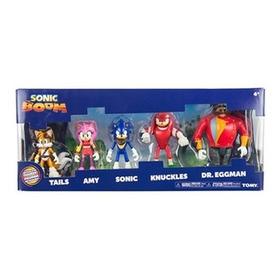 Sonic Boom Figuras X 5 Multipack Original Tomy Full T22068