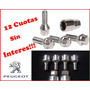 Tuercas Bulones De Seguridad Para Peugeot Envio Gratis!!