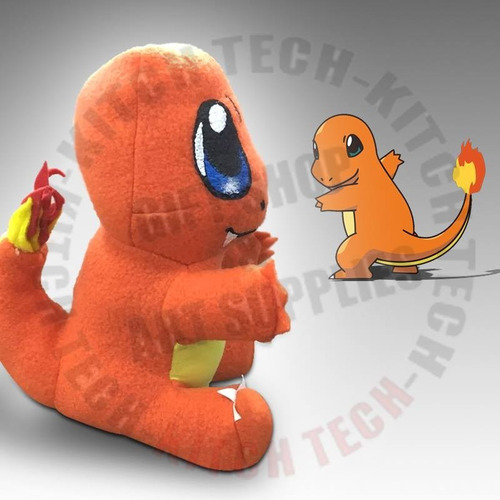 ea8deb7a5c85 Peluche Pokemon Charmander Pokemon Go Pokebola Poke  600 glF5D ...