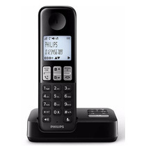 Telefono Inalambrico Philips D2351b/77 Negro Contestador