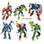 Heroes Set X 6 -armar, Desarmar E Intercambiar! E-commerce07