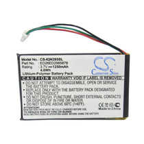 Bateria Gps Garmin Cs-iqn285sl Nuvi 285 285wt