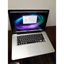 Apple Macbook Pro 15 Intel I7 Early 2011 Con Detalle