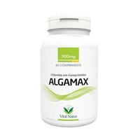 Algamax Chlorella - 60 comprimidos 500mg - Vital Natus