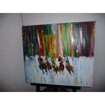 Pintura Abstracta .tecnica Espatula
