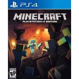 Minecraft  Ps4 Digital, Juga Con Tu Usuario