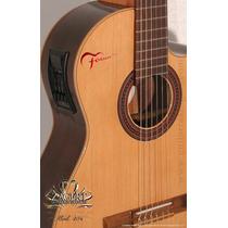 Guitarra Electroacústica Fonseca 41kec (increible)