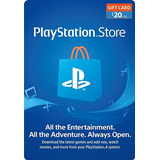 Psn Gift Card 20 Usd - Eeuu Store - Ps4 - Lupogames