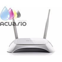 Router Wifi 2 Antenas Tp-link 840n 300mps Largo Alcance Caja