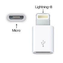 Adaptador Micro Usb A Lightning Para Apple® Iphone