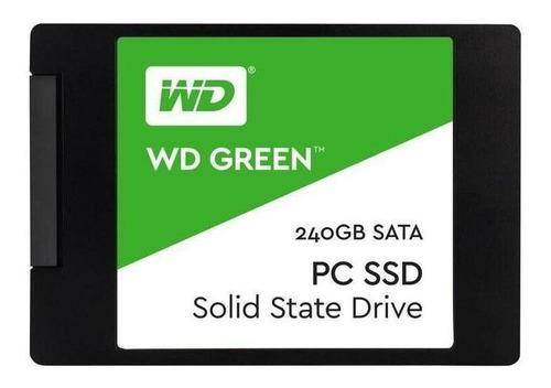 Disco Sólido Interno Western Digital Wd Green Wds240g2g0a 240gb Verde