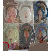 Souvenir Cumpleaños Adultos Cenicero Marilyn Personalizado