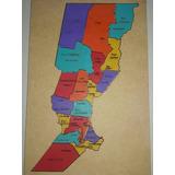 Mapa De La Provincia De Santa Fe