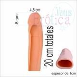 Funda Pene Extensión Peneana Engrosa 1/1,5 Cm Alarga 5/8cm