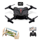 Mini Drone Cuadricoptero Camara 2mp Filma Hd Control Remoto 2 Baterias Giro 360 Altimetro Fpv Wifi Incluye Repuestos