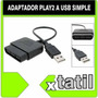 Adaptador De Joystick Play2 A Pc Usb Xtatil Belgrano