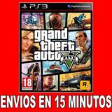 Gta V Playstation 3 Digital Ps3 Entrega Rapida Stock 50% Off