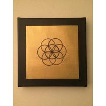 Pintura Acrilico Tela Bastidor Seurat Arseniy Geometry Arte