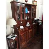 Mueble De Algarrobo. Modular. Excelente Estado. Ramos Mejía