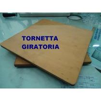 Tortera Giratoria P/ Decorar Tortas 35x35 Muffin Cupcakes.