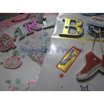 2 Bolsas De Regalo 3d Varios Motivos, Nene O Nena A Elección