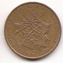 Moneda Francia 10 Francs Año1976 Km 940