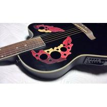 Guitarras Electroacusticas Parquer T/ Ovation C/equ 4 Bandas