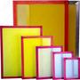 Promo 4 Schablones Serigrafía 40x50 47 Hilos Oferta!!!