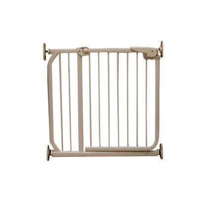 Puerta seguridad metalica mascotas escalera ni os - Puertas de escaleras para ninos ...