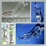Zapato Cristal/cenicienta /acrilico/6,5x4cm/10 Unidades