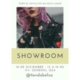 Flyer Digital Diseño Showroom