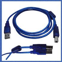 Cable Usb 2.0 Malla Filtro Multifuncion Impresora 3mt Oferta