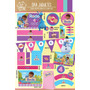 Kit Imprimible Personalizado Doctora Juguetes Candy Bar Deco