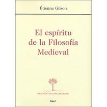 Étienne Gilson El Espíritu De La Filosofía Medieval Rialp