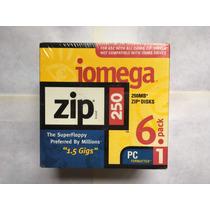 Iomega Zip 250mb X6 Nuevo