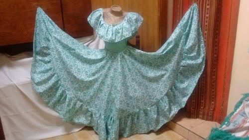 165f07183 Traje Paisana Niña Pollera Plato O Fruncida Blusa Folklore en venta ...